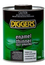 diggers enamel thinner 4l. Black Bedroom Furniture Sets. Home Design Ideas