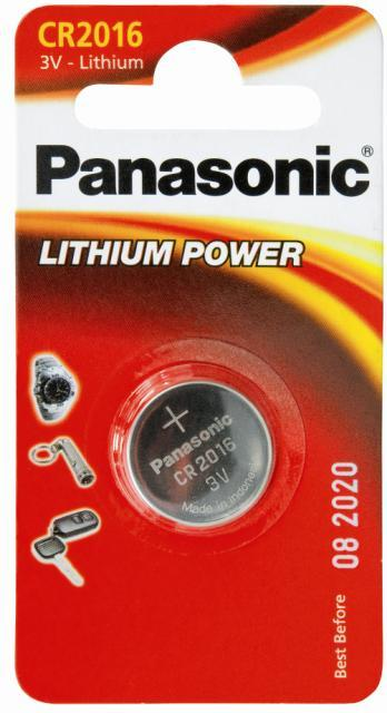 panasonic 3v coin lithium battery cr2016. Black Bedroom Furniture Sets. Home Design Ideas