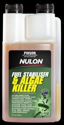 Nulon Fuel Stabiliser & Algae Killer 1 Litre