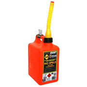5L Safe-T-Pour Plastic Fuel Can With Fill & Stop Pourer