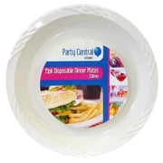 15pk Disposable Dinner Plate
