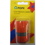 Pope 12mm Hose Connector Flow Thru