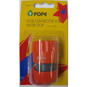 Pope 12mm Hose Connector With Stop