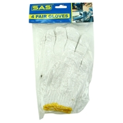 4 Pair Knitted General Purpose Gloves