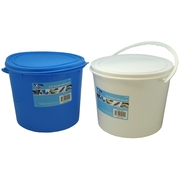 5.5 Litre Round Bucket with Handle and Lid