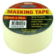Handy Hardware Masking Tape 50mm x 20m