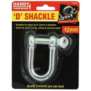 Handy Hardware D Shackle 12mm
