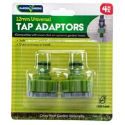 "Garden Greens 2 Pce Tap Connector 1"" With 3/4"" Adaptor"
