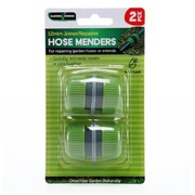 Garden Greens 2pc Hose Mender Suit 12mm Hose