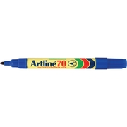 Artline 70 Permanent Marker Blue 1.5mm Bullet Nib