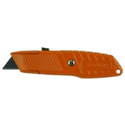 Sterling Ultra Grip Orange Safety Auto-Retracting Knife