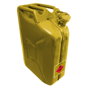 Pro Quip AFAC Metal 20 Litre Yellow Diesel Jerry Can