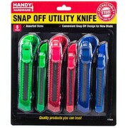 Handy Hardware 6pc Snap Off Utility Knife