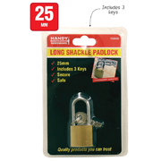 Handy Hardware 25mm Long Shackle Padlock