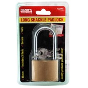 Handy Hardware 48mm Long Shackle Padlock