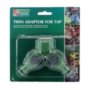 Garden Greens Twin Adaptor For Tap