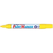 Artline 400 Paint Marker Yellow 2.3mm Bullet Nib 400XF