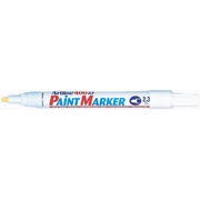 Artline 400 Paint Marker White 2.3mm Bullet Nib 400XF