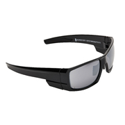 Pro Choice Eruption Safety Glasses Silver Mirror Anti Fog Smoke Lense
