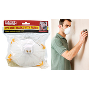 Handy Hardware 2pc Dust Masks + Filter
