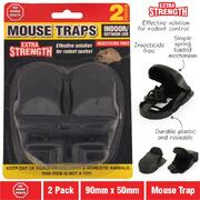 2pk Plastic Mouse Trap