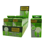 Handy Hardware 53w Traditional Style Light Bulb Energy Saver Screw Type