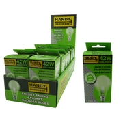 Handy Hardware 42w Traditional Style Light Bulb Energy Saver Bayonet Type