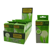 Handy Hardware 53w Traditional Style Light Bulb Energy Saver Bayonet Type