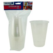 20pk Disposable Cups 350ml