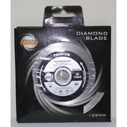 125mm Industrial Quality Diamond Blade Continuous Rim
