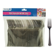 48pk Disposable Metallic Forks
