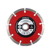 100mm Industrial Quality Diamond Blade Segmented Red