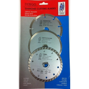 3pc Dingo Diamond Blade 125mm