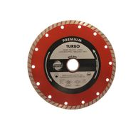 230mm Industrial Quality Diamond Blade Turbo Red