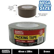 Handy Hardware Brown Packing Tape 48mm x 200m