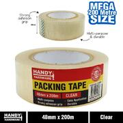 Handy Hardware Clear Packing Tape 48mm x 200m