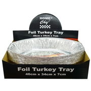 Foil Turkey Tray 46 x 34 x 7cm