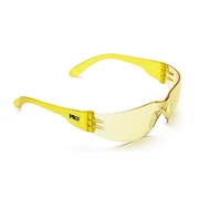Tsunami Safety Specs Clear Amber