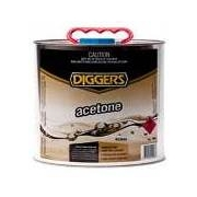 Diggers Acetone 4 Litre