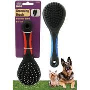 Pet Basic 17.5cm Double Sided Grooming Brush
