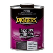 Diggers Laquer Thinner 1 Litre
