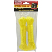 Handy Hardware 2pk 10m Multi-Use Rope