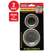 Handy Hardware Sink Strainer Set 2pc