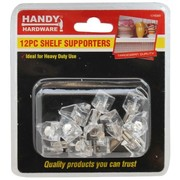 Handy Hardware 12pc Shelf Supporters