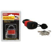 Handy Hardware 30mm Heavy Duty Waterproof Padlock