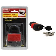 Handy Hardware 50mm Heavy Duty Waterproof Padlock With 3 Keys
