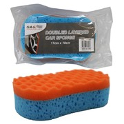 Double Layer Car Sponge 17 x 10 x 4.8cm
