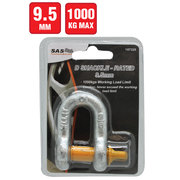 D Shackle 1000 kg Load Rating