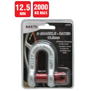 D Shackle 2000 kg Load Rating