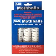 SAS Mothballs 3 Hanging Container 27g Net